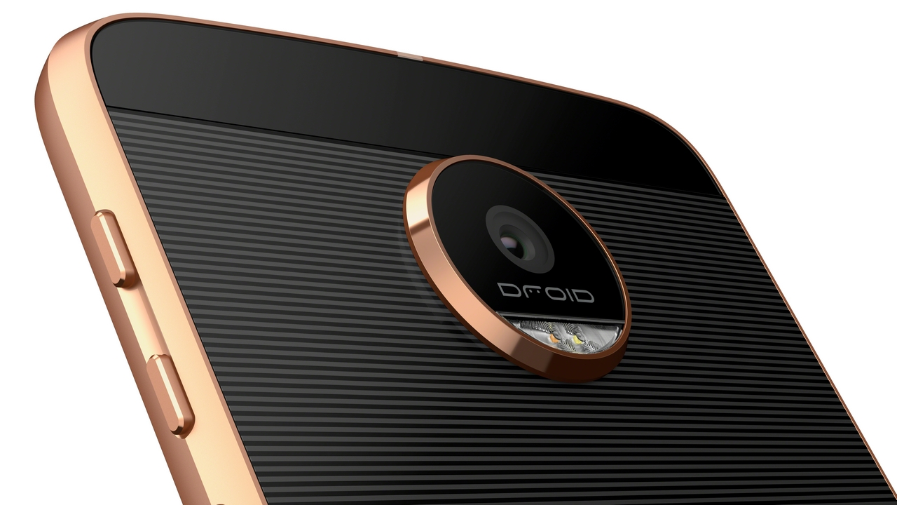 Motorola Moto Z Force Droid Edition Back Closeup