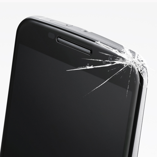 Motorola Cracked Screen